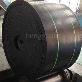 Conveyor belt for chemical plant