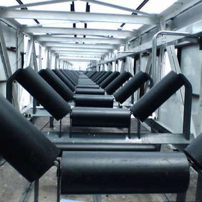 Selection standard of conveyor belt idler