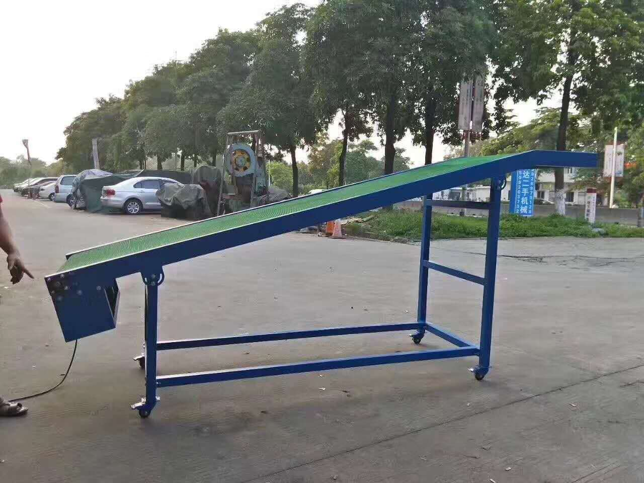 Light belt conveyor